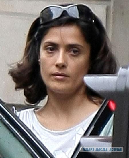 Сальма хайек без макияжа