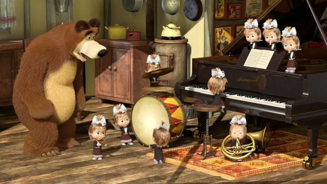 Интересные факты о мультсериале «Маша и медведь»