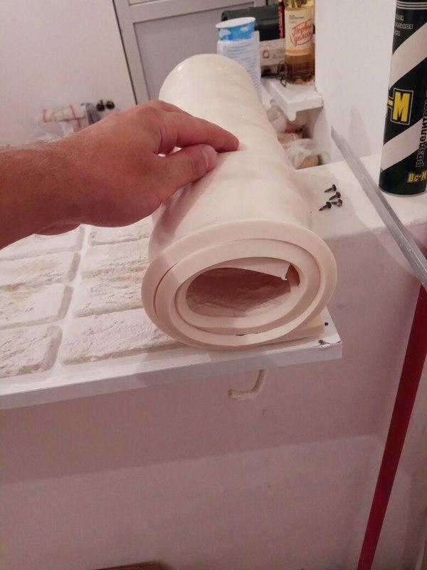 Форма из полиуретана своими руками для кирпича из гипса