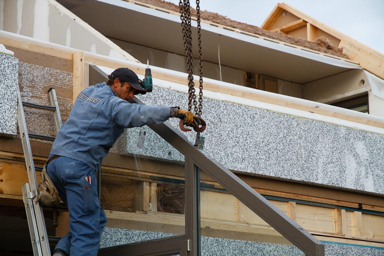 Фотоотчёт о строительстве дома