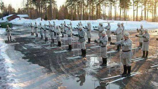 Эстонцы научат американцев воевать на лыжах