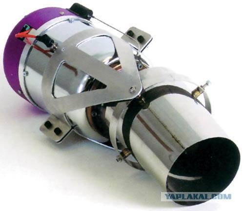 Реактивный двигатель для авиамоделей своими руками