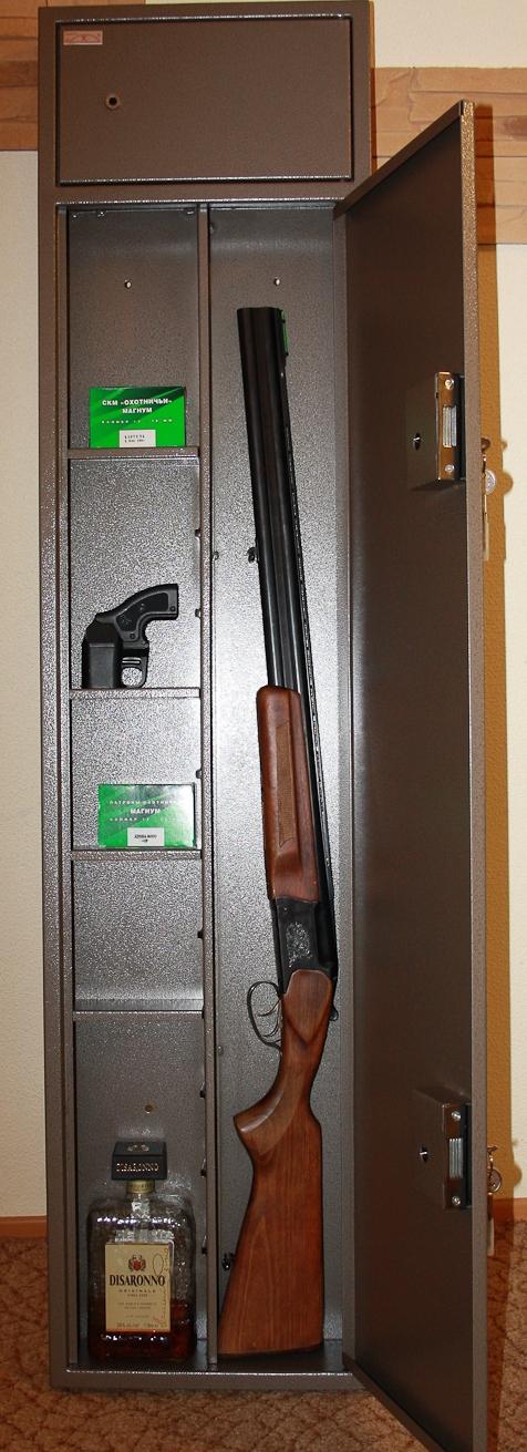 Сейфы для охотничьих ружей фото