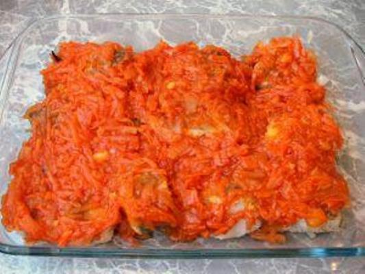 Рецепты приготовления рыбы под маринадом с фото