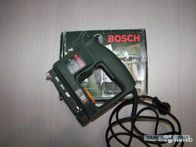 Электрический степлер Bosch продам