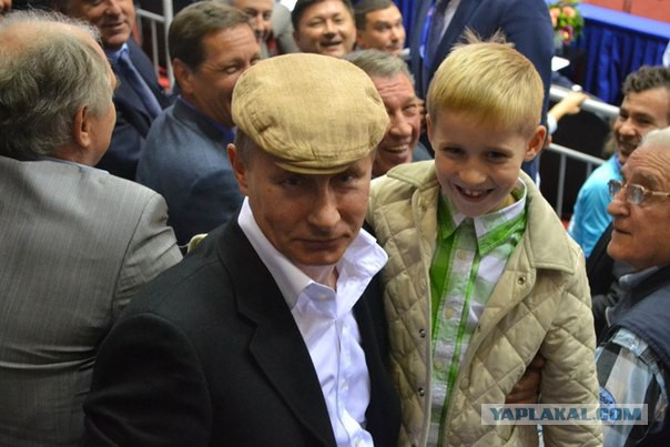В Челябинске 7-летний мальчик пробрался к Путину