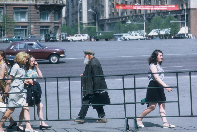Москва и москвичи:уникальные ретро фотографий из 1970-х годов