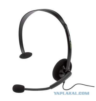 Наушники для Microsoft Xbox 360 Headset Wrlss P5F-