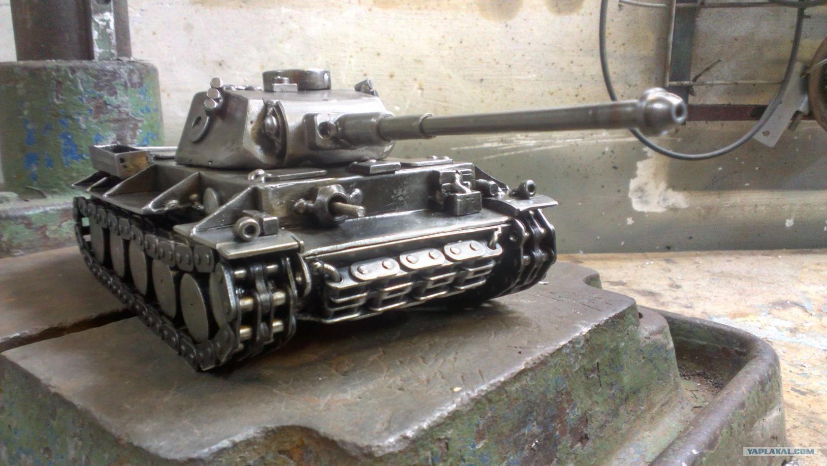 как сделать танк своими руками фото инструкция