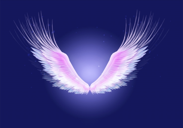 Vector Angel Wings Stock Photos  Royalty Free Pictures
