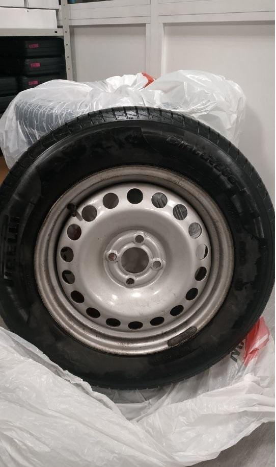 Летние колёса 15 в сборе с шинами Pirelli