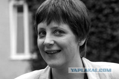 фото в молодости ангела меркель