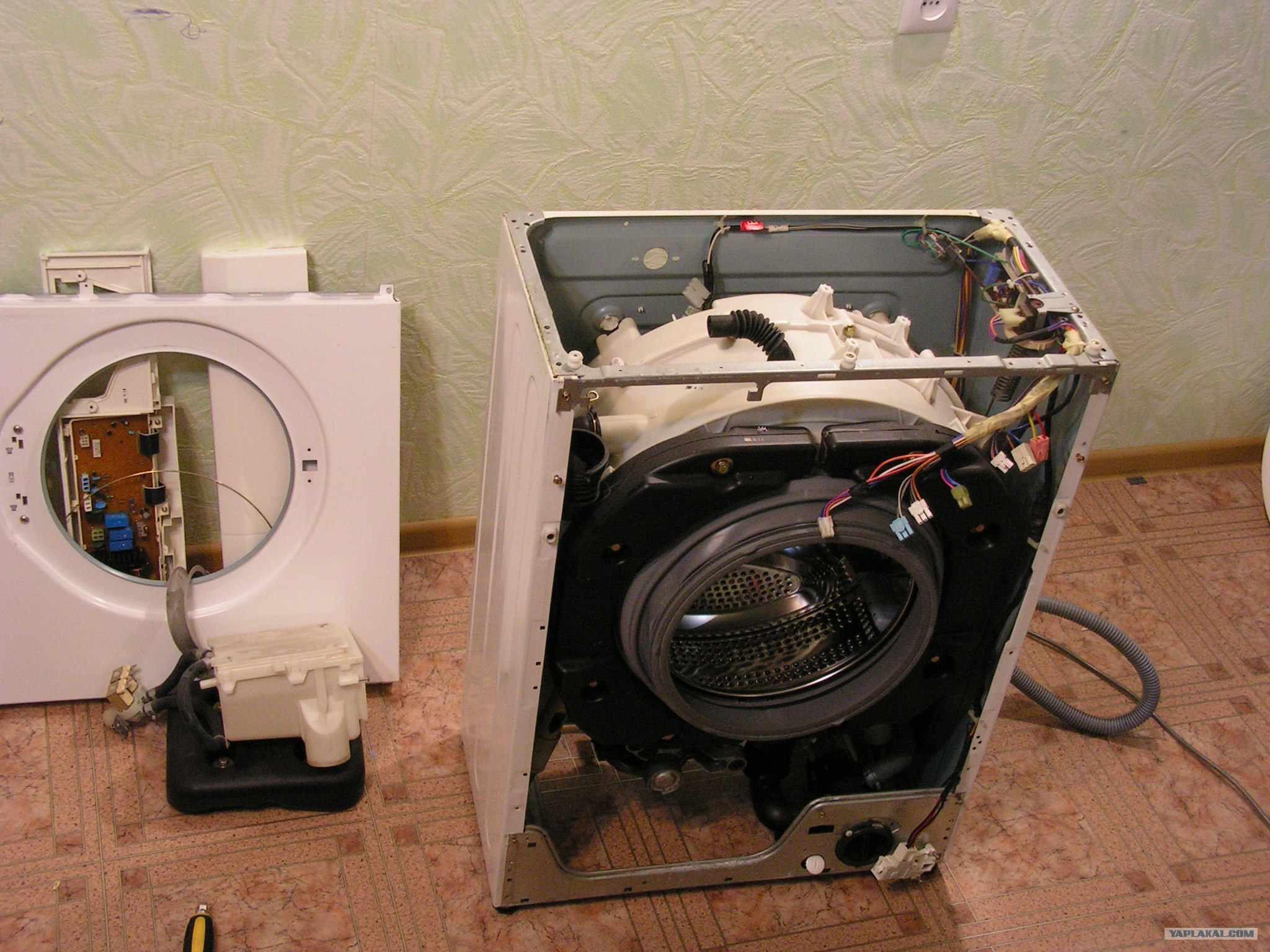 Ремонт стиральной машины своими руками барабан