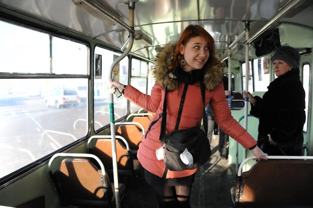 как познакомиться с кондуктором в автобусе
