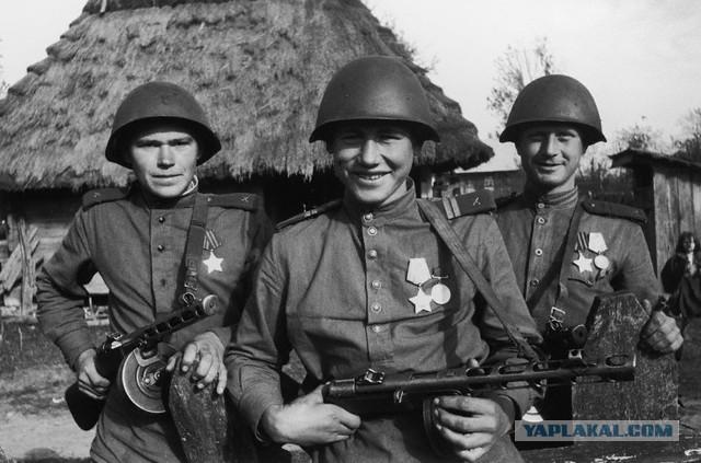 Как выглядел солдат во время второй мировой в различных странах мира