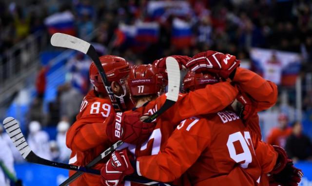 Сборная России выиграла у сборной Германии, 4-3