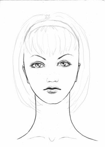 Рисуем голову человека