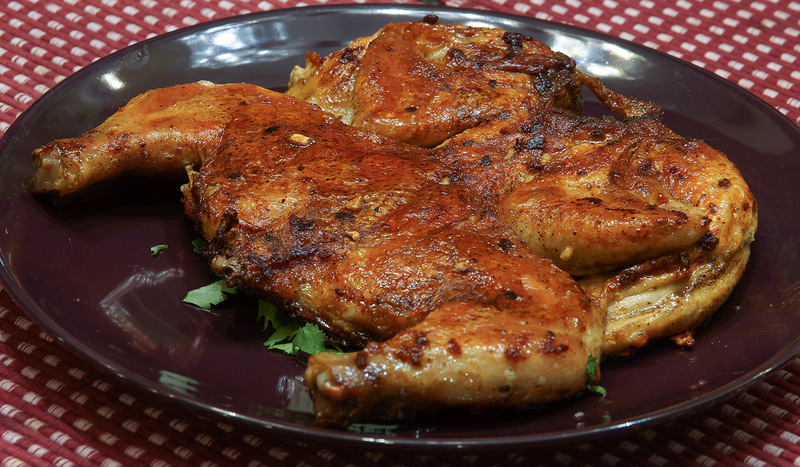 Цыпленок в табака рецепт