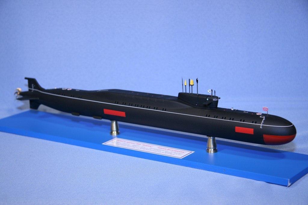 размер подводной лодки юрий долгорукий