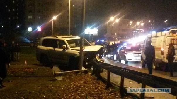 Пьяный урод на Lexus сбил насмерть три человека