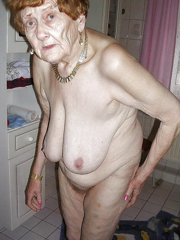 старая бабка разделась фото