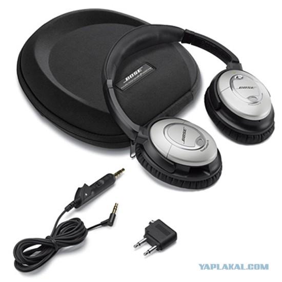 Bose QuietComfort 15 - наушники с активным шумоподавлением