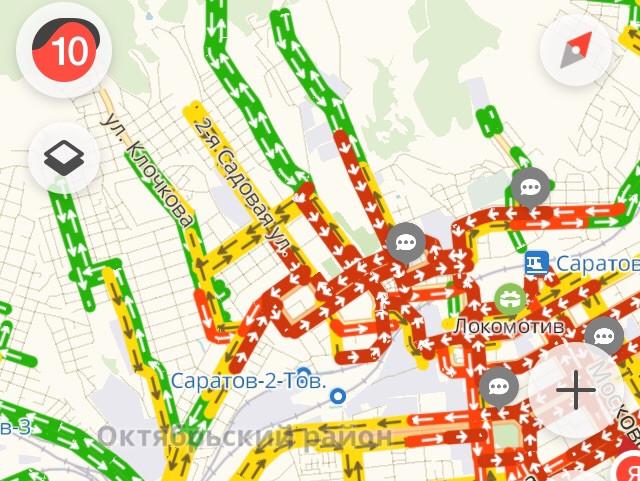 Саратовцы начали массово подписывать петицию за введение в городе режима ЧС