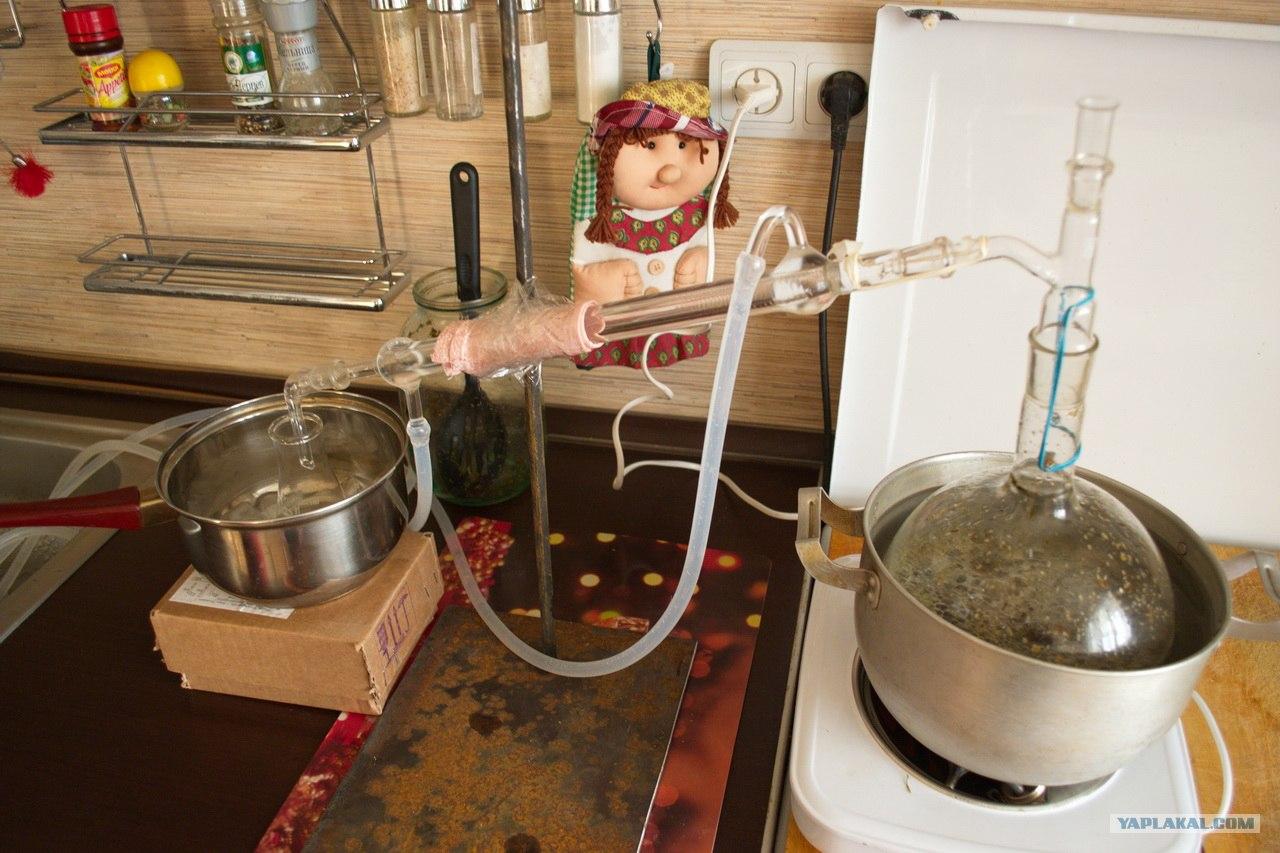 Домашний миниспиртзавод. Получение спирта в домашних условиях 71