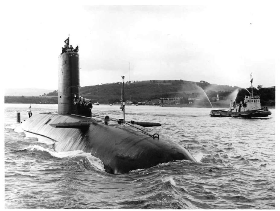 сан луис подводная лодка