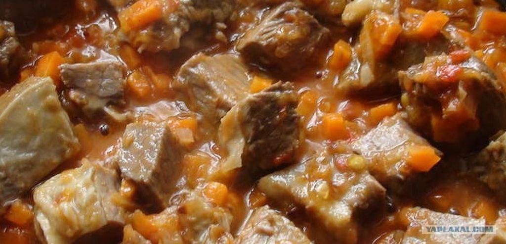 Как сделать подлив для гречки с мясом