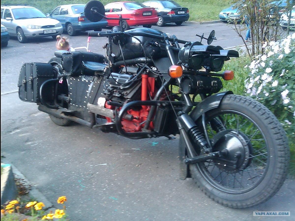 Сделать мотоцикл своими руками фото