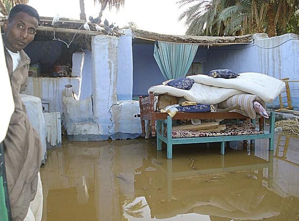 Жуткий потоп от Израиля до Египта