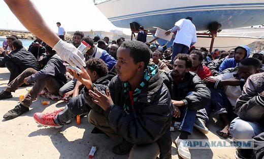 Латвия не готова принять 700 беженцев из Африки