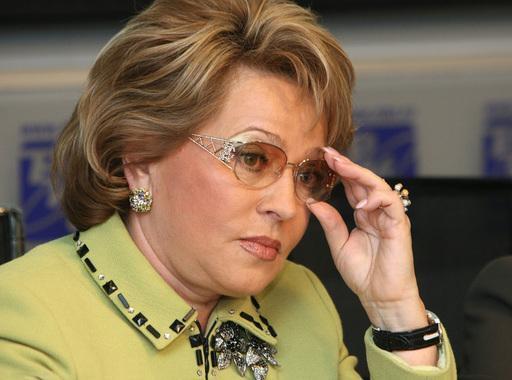 Матвиенко пожаловалась на низкие зарплаты в Совете Федерации
