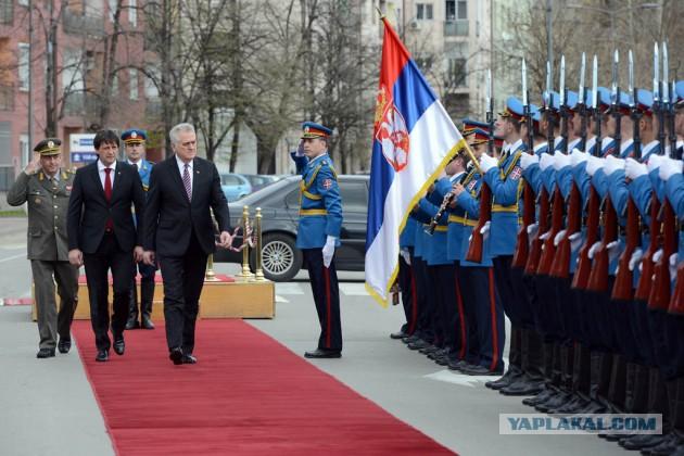 Армия Сербии примет участие в параде в Москве