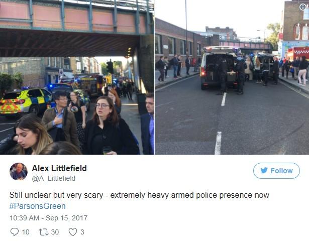 На станции метро в Лондоне прогремел взрыв