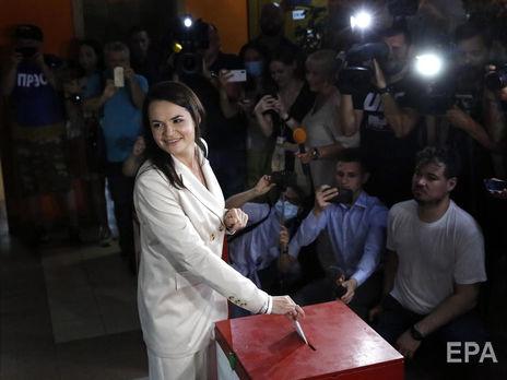Независимые экзит-поллы на выборах президента Белоруссии показывают победу Тихановской