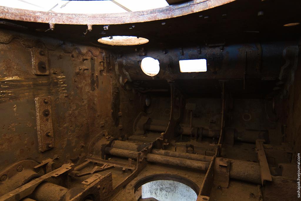 Реставрация танка КВ-1