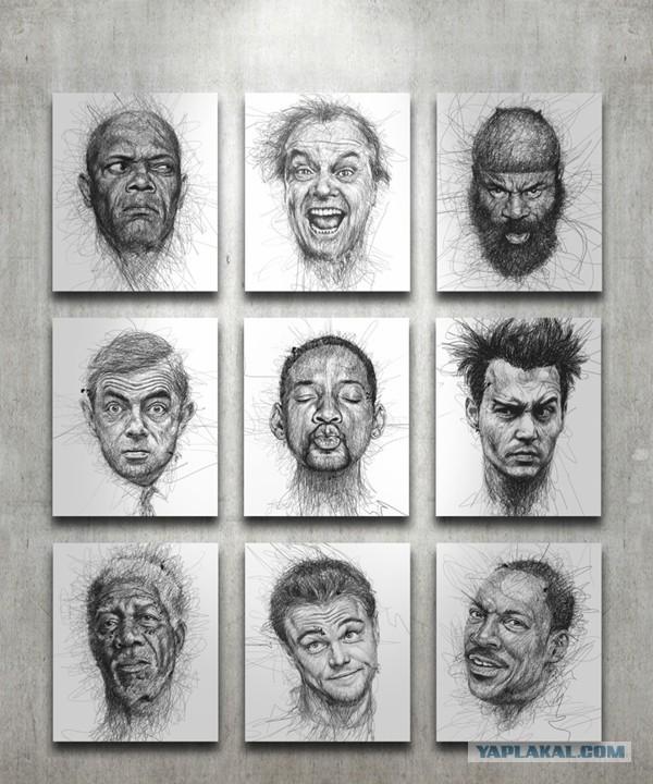 Рисунки малазийского художника Винса Лоу