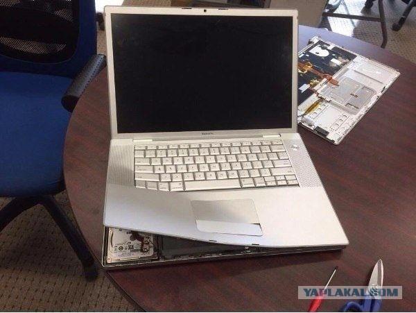 Как заменить жесткий диск в MacBook Pro