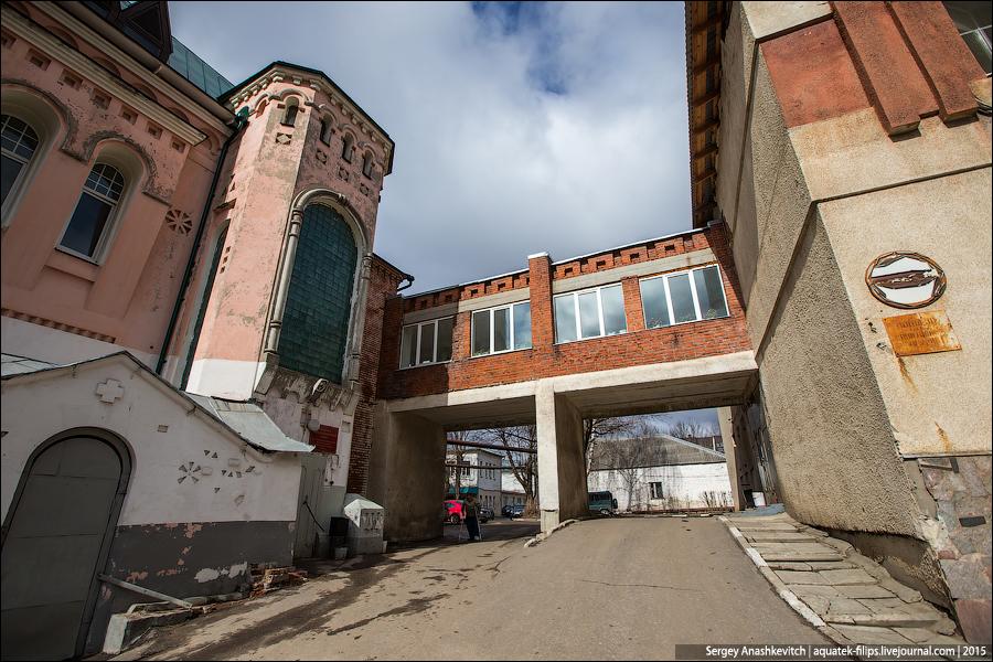 Заброшенная больница в зеленой роще адрес