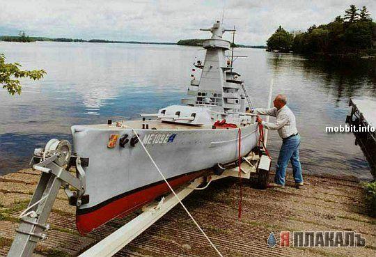 Военный корабль своими руками