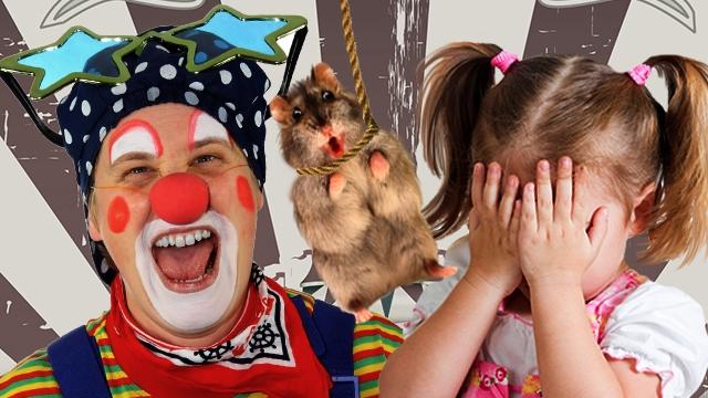 Детей в цирке забросали мертвыми хомяками