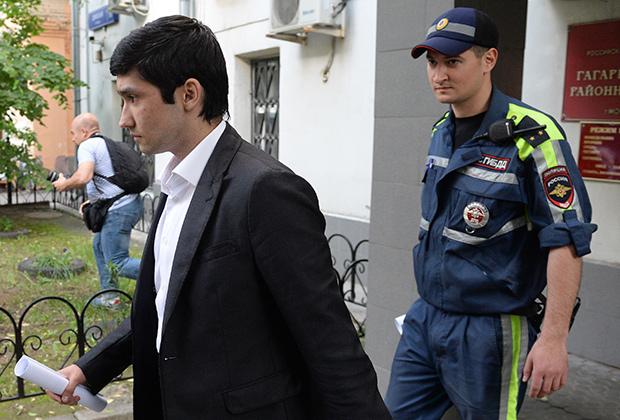 Рафик неуивинуовный совсем! Сын вице-президента ЛУКОЙЛа во всем обвинил полицейских.