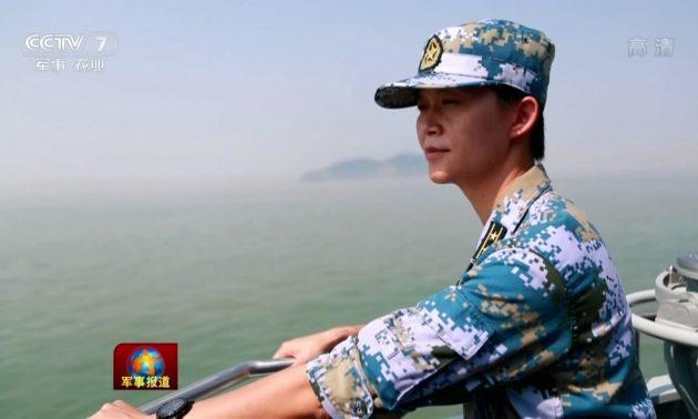 Хуйсяо - первая женщина командир боевого корабля ВМС НОАК