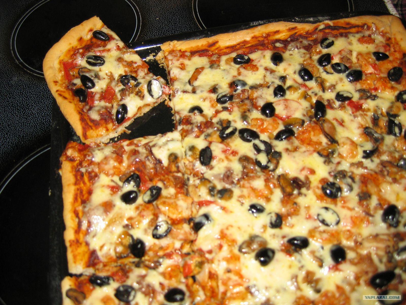 Как сделать вкусную настоящую пиццу