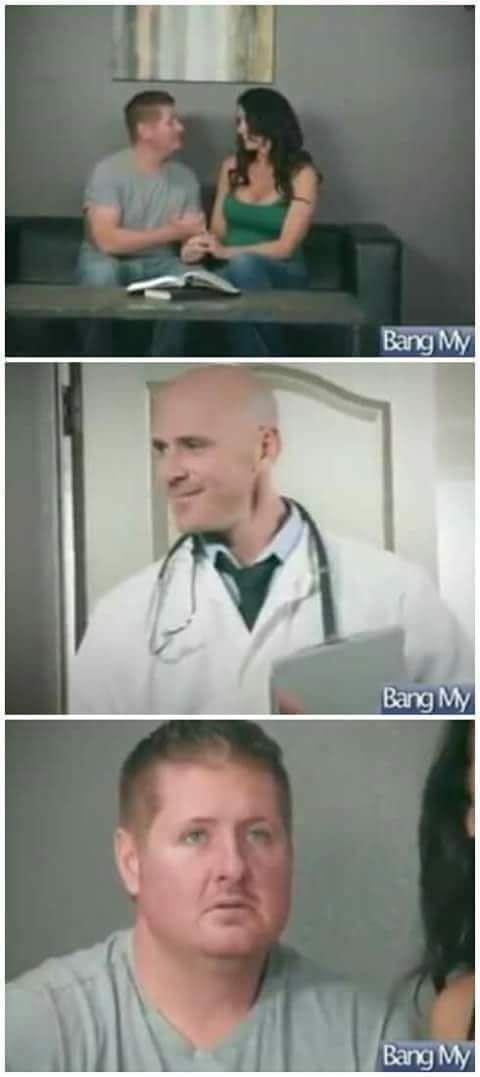 Когда отвез жену к доктору и тут же об этом пожалел