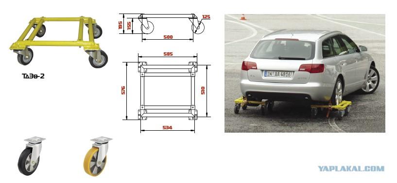 Тележка для легкового автомобиля чертежи
