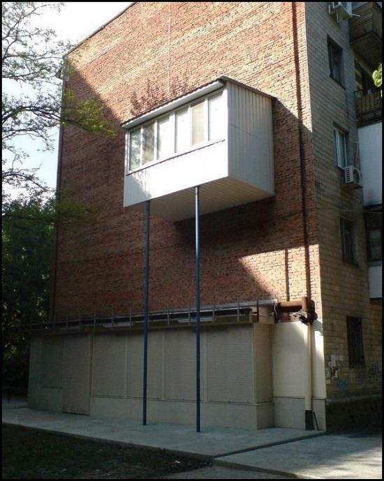 Как сделать пристройку на балкон