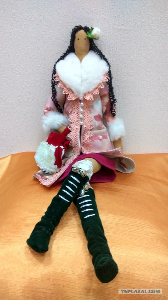 Эксклюзивные куклы ручной работы.